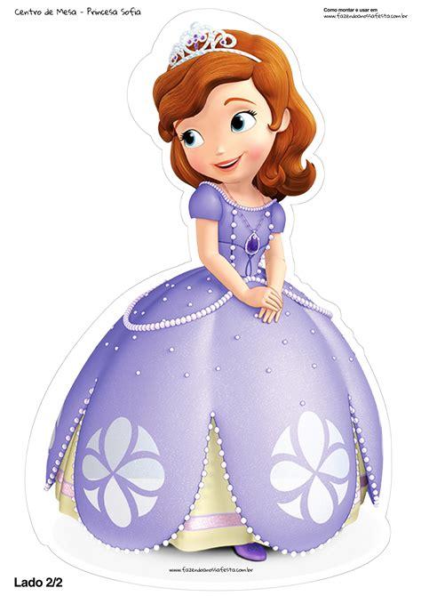 Centro de Mesa Toten Princesa Sofia 2 2 princesita sofia