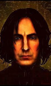 Severus Snape of Harry Potter by enchantedgal on DeviantArt