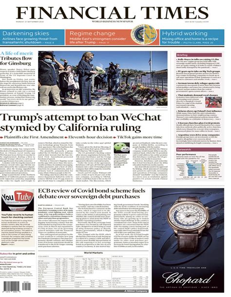 Financial Times USA - 09.21.2020 » Download PDF magazines ...