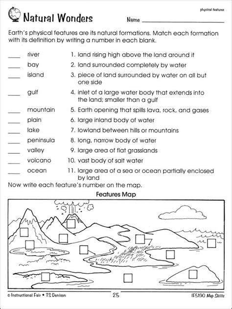 world map worksheet   grade  worksheets samples