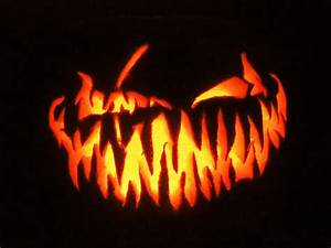 28 best cool scary halloween pumpkin carving ideas With evil face pumpkin template