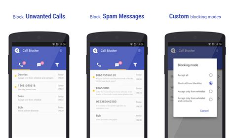 block calls android how to block calls and texts on an android phone phandroid