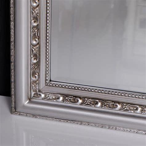 spiegel barock silber barockspiegel kaufen spiegel barock silber antik argento 180x70cm lebenswohnart de