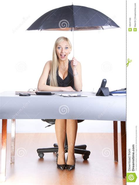 Office Desk Umbrella by Business Umbrella Stock Photo Image 18541100