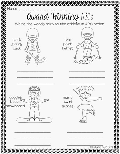 29 best images about olympic worksheets on