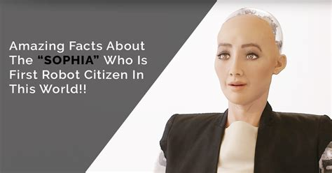 sophia   robot citizen   world amazing