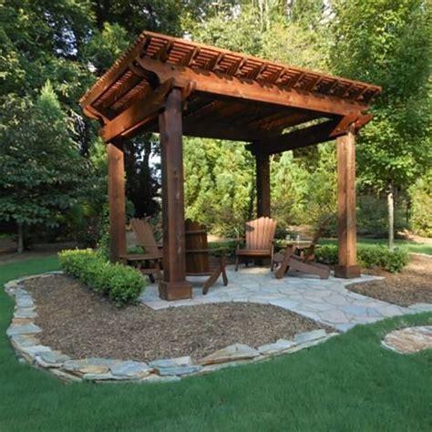 Pavilion Plans Backyard by Best 25 Backyard Pavilion Ideas On Outdoor