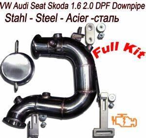 Fap Polo 1 6 Tdi : downpipe dpf fap removal audi a1 a3 8v vw polo 1 6 tdi 110 hp va4 ebay ~ Dallasstarsshop.com Idées de Décoration
