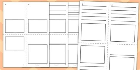 mini book template blank mini book booklet template
