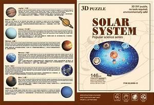 146PCS 3d paper puzzle solar system educational toys, View ...