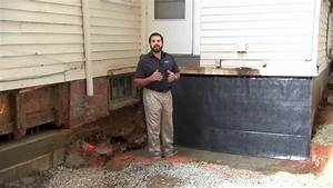 House Foundation Waterproofing