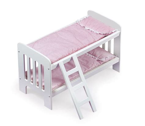 Badger Basket Doll Bed by Badger Basket Doll Bunk Beds With Ladder And Bedding By Oj