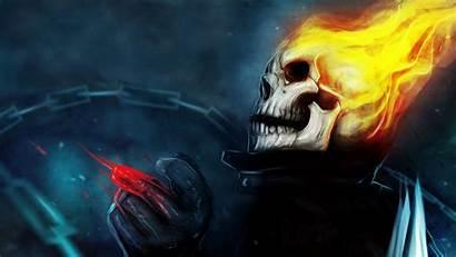 Ghost Rider Wallpapers Skull Dark Fantasy 4k
