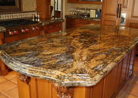 caramel brown granite kitchen millestone marble tile