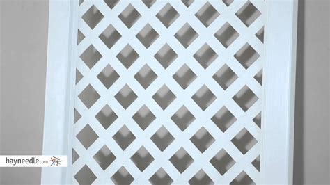 7 Foot Trellis by Nantucket 7 Foot Vinyl Arch Trellis Product Review