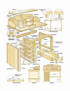 Build Wooden Small Wood Desk Plans Plans Download small ...