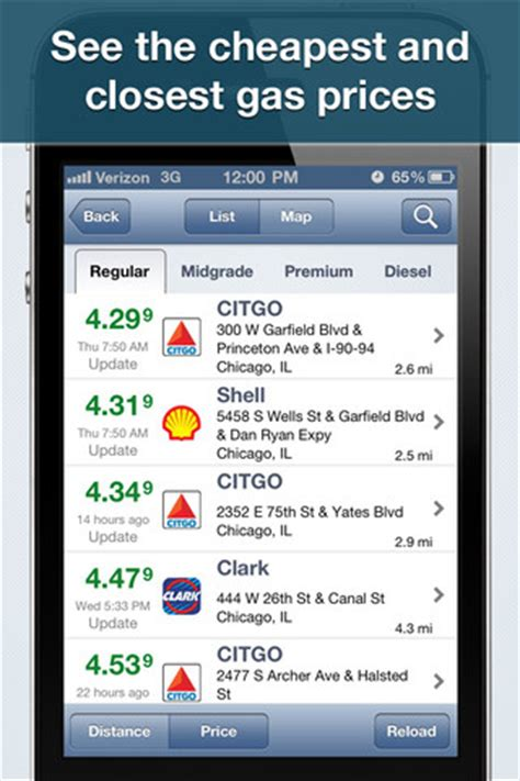 find  cheap gas prices   local area  gasbuddy