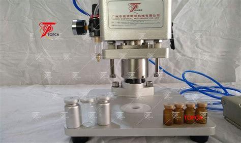 desktop pneumatic semi automatic vial capping crimping machine  sale
