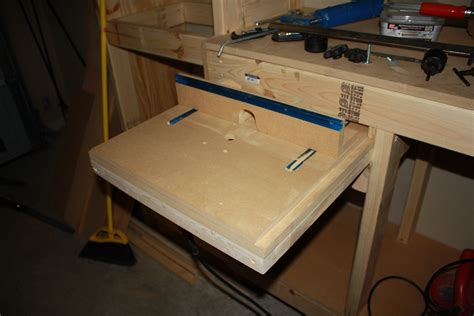 diy homemade horizontal router table plans
