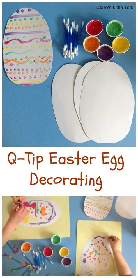tip easter egg decorating easter crafts  activities
