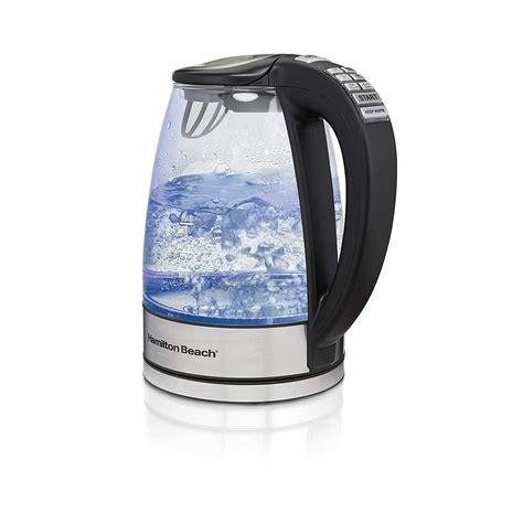 electric kettle water tea kettles hamilton glass beach epicurious coffee boiling pot temperature settings amazon master
