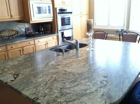 Kitchen Gray Granite Colors For Countertops With Oak