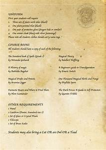 harry potter diy hogwarts acceptance letter requirement With hogwarts acceptance letter