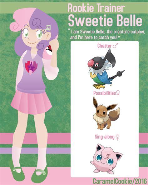 rookie pokemon trainer sweetie belle