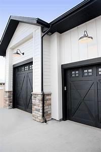 best 25 black garage doors ideas on pinterest paint With 15 x 8 garage door