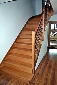 Schody dřevěné