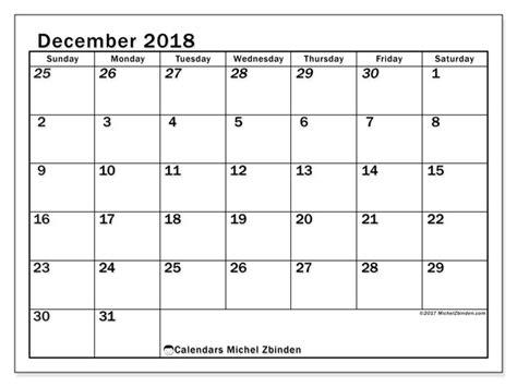 calendar december ss michel zbinden en