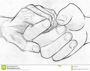 Pencil Sketch Of Boy And Girl Holding Hands - Drawing Of ...