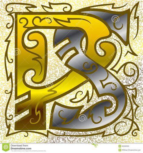 monogram ps stock vector illustration  design icon