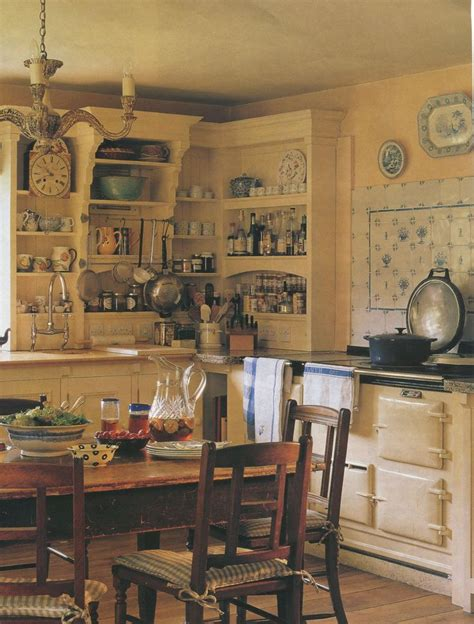 Old English Cottage Kitchen