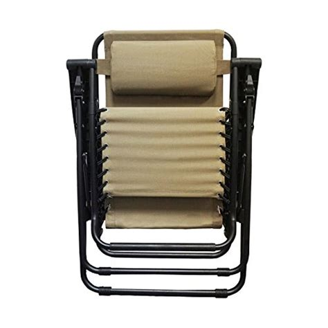 Caravan Sports Zero Gravity Chair Beige by Caravan Sports Infinity Zero Gravity Chair Beige
