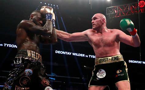 Deontay Wilder và Tyson Fury thu nhập bao nhiêu sau trận ...