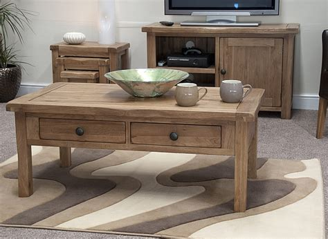 tilson solid rustic oak living room lounge furniture