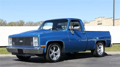 1984 Chevrolet C10 Pickup  T145  Houston 2016