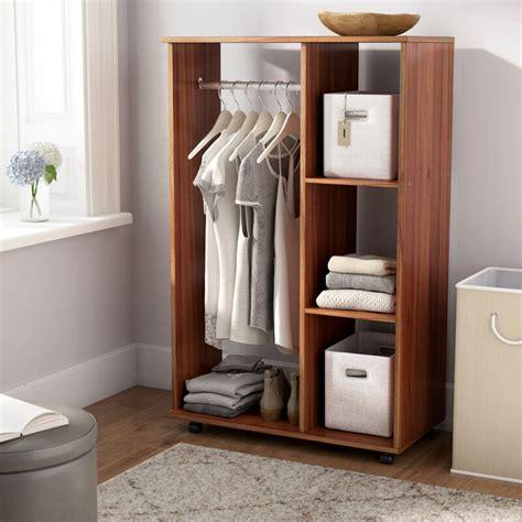 open clothes storage wayfair basics open 80cm wide clothes storage system reviews wayfair co uk