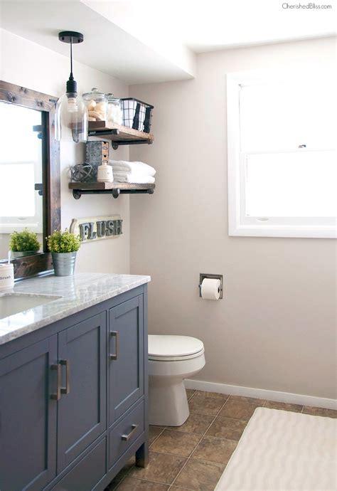 Amazing Bathroom  Bathroom Vanity Farmhouse Style With