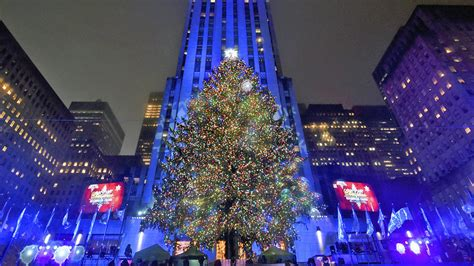 2017 rockefeller center tree lighting how to watch live