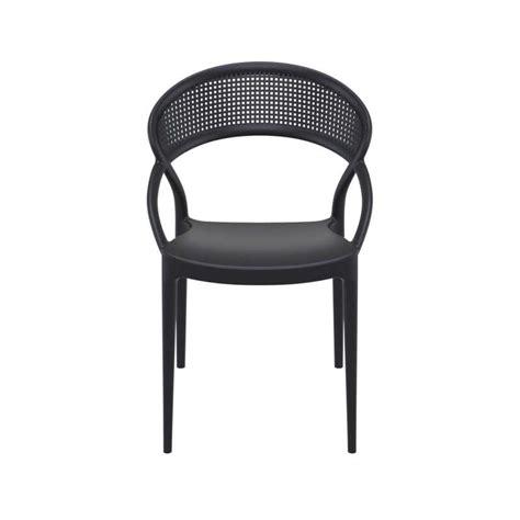 Chaise Design De Jardin Empilable En Polypropylène