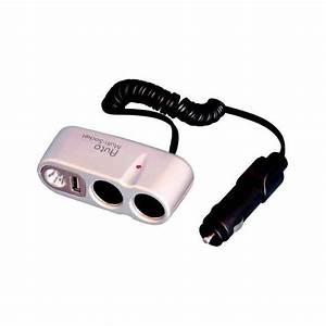 Climatiseur Allume Cigare : double prise allume cigare pour camping car ~ Premium-room.com Idées de Décoration