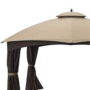 garden winds replacement canopy for lowe s dome 10 x 12 gazebo replacement canopy riplock 350
