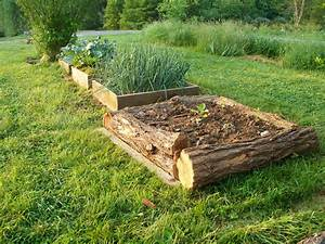 Vegans, Living, Off, The, Land, Raised, Bed, Garden, Ideas, U0026, Using, Free, Materials