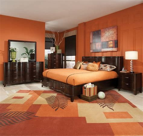 Decorating Ideas For Orange Bedroom by Tips On Decorating An Orange Bedroom Decorating Room