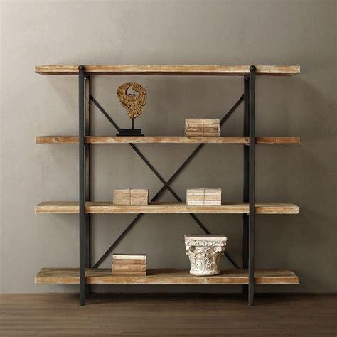 10 id 233 es 224 propos de etagere bois metal sur meuble bois metal etagere murale metal