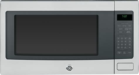 ge pebsfss  cu ft countertop microwave oven  control lockout sensor cooking