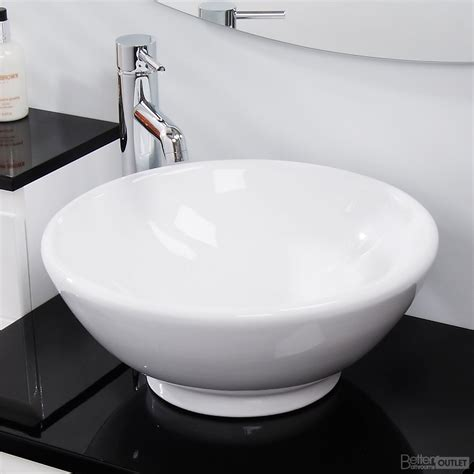 sink on top of counter counter top bathroom wash basin sink washing bowl round