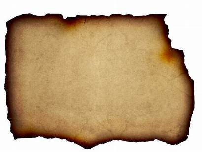 Burnt Parchment Paper Background Edge Torn Clipart